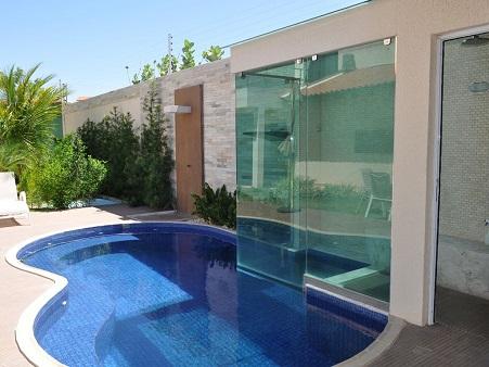 Sauna com piscina integrada: saúde para sua família e elegância para sua casa!