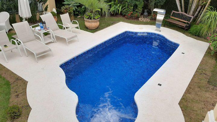 Revestimento cimentício atérmico para piscina